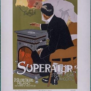 L. Metlicovitz - Ricordi Portfolio: Superator - Affiche...