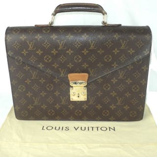 83e9a25752e Louis Vuitton - Monogram Serviette Conseiller Business Briefcase ...