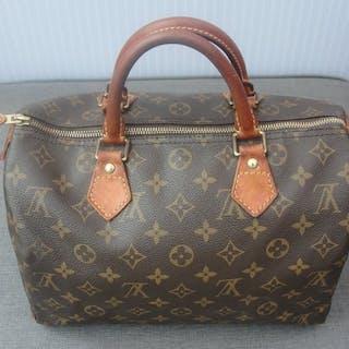 87ec89bb1561 Louis Vuitton - Speedy 30 Monogram Canvas Handbag – Current sales –  Barnebys.com