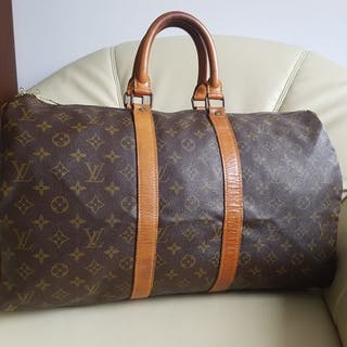 e31732f32c4 Louis Vuitton - Keepall 45 Travel bag – Current sales – Barnebys.com