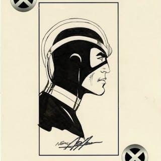 X-Men - Portrait Havok par Neal Adams - Page volante - EO - (2017)