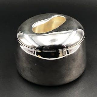 Portacotone (1) - Silber - Italien - 21. Jahrhundert