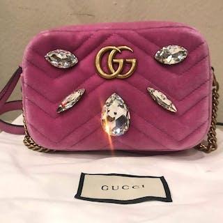 29fe298076c8 Gucci - marmont Crossbody bag – Current sales – Barnebys