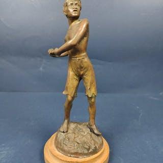 """Balilla"" Italian Patriot - Bronze - First half 20th century"