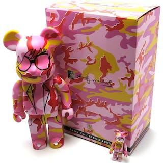 Andy Warhol - Medicom 100 % and 400% Bearbrick Figure