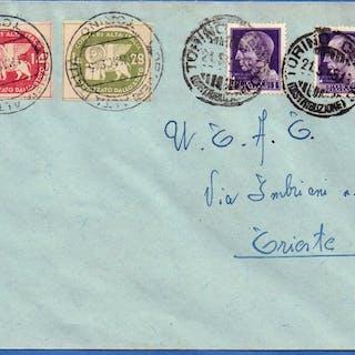 Italia 1945 - Servizi privati Coralit - L