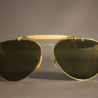 fe60726f40 Ray-Ban - Aviator Lic Bausch   Lomb Sunglasses – Current sales –  Barnebys.com