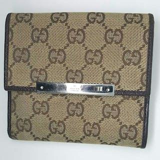 76125981f8e5 Gucci - GG Logo Wallet – Current sales – Barnebys.com
