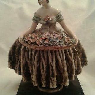 Cacciapuoti - Statuetta/e (1) - ceramica