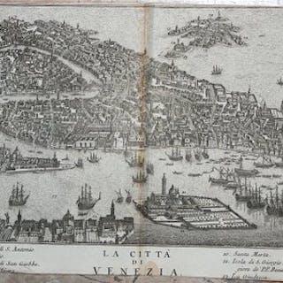 Italien, Veneto, Venezia; T. Salmon - La città di Venezia - 1751-1760
