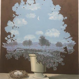 René Magritte(1898-1967) d'après -Le Pays des miracles (1964)