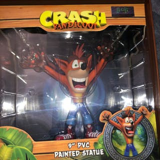 "Sony Crash Bandicoot Statue First 4 Figures F4F 9"" PVC..."
