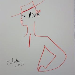 Jean Cocteau - Toréador de profil