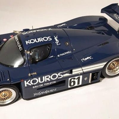 Exoto - 1:18 - Sauber Mercedes C9 Kouros | Barnebys