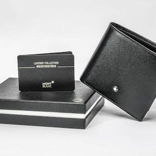 Montblanc - 7162 - Meisterstuck Leather Wallet 11cc with view pocket Portafogli