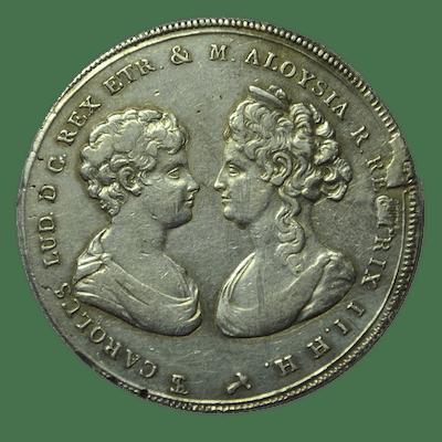 Italie - Royaume d'Étrurie - Francescone 1806 - Carlo...