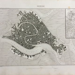 Thiers - Raccolta di 7 Mappe Italiane relative alla Révolution Francaise - 1840