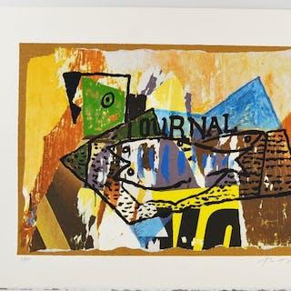MImmo Rotella - Il Giornale di Picasso