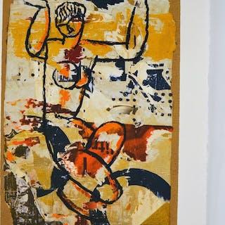 Mimmo Rotella - Modigliani
