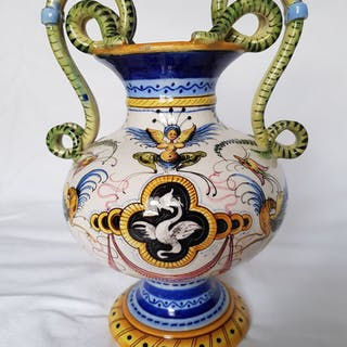 Alfredo Ciulli - Società Ceramica Colonnata - Vaso (1) - Ceramica