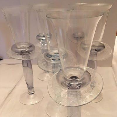 Borek Sipek - Driade - glasses service (6) - Crystal