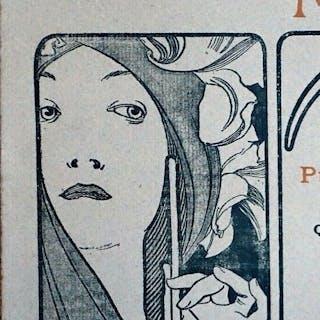 Alphonse Mucha - L'estampe Moderne - Original lithograph 1899 :Cover