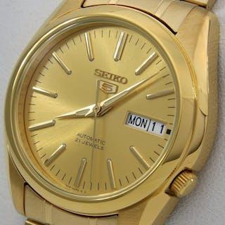 66190ba3372 Seiko - Unisex Automatic 21 Jewels
