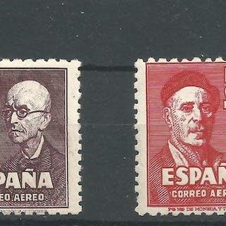 España 1947 - Falla y Zuloaga. Serie completa. - Edifil 1015/1016