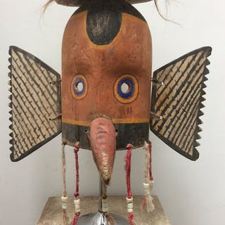 Mask - Wood - Hopi style - Arizona, USA