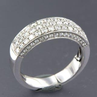 14 kt. White gold - Ring - 1.35 ct Diamond