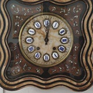 Reloj ojo de buey - Madera - Finales del siglo XIX