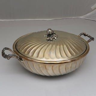 Zuppiera - .800 argento - Italia - Seconda metà del 20° secolo
