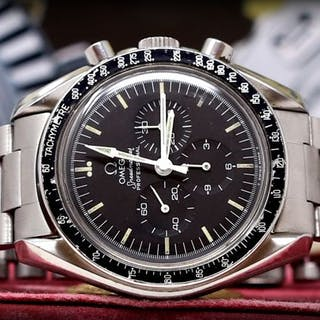 Omega Speedmaster Professional Moonwatch Long Current Sales