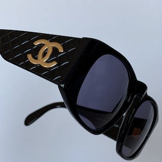 0c2d2390827e2 Chanel - Quilted Sunglasses – Current sales – Barnebys.com