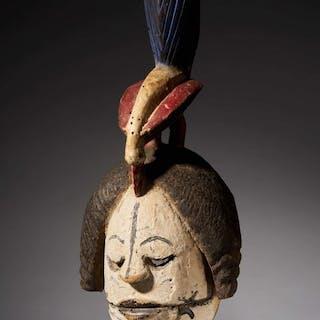 Mask - Wood - Ibibio/Idiok - Nigeria