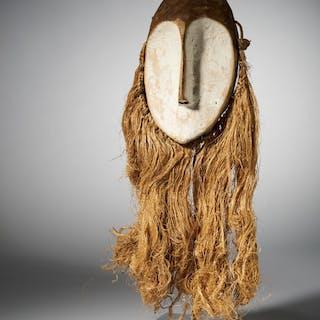 Lukwakango Mask - Wood - Lega - DR Congo