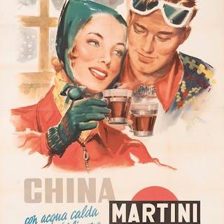 Mario Rossi - China Martini Torino - 1950s