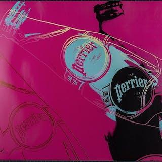 Andy Warhol - Perrier pink version