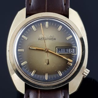 252aa91e1 Bulova - Vintage Accutron Day Date- Men - 1970-1979