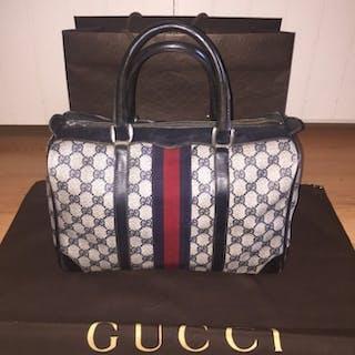 92ad1de83b0998 Gucci - Bauletto Handbag · Vintage Gucci top handle ...