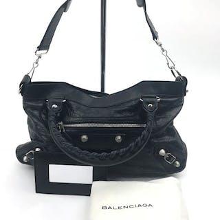 Balenciaga - 2 WAY Black Handbag