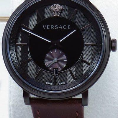 Versace - V CIRCLE Leder Mens - VEBQ00419 - Herren - 2011-heute