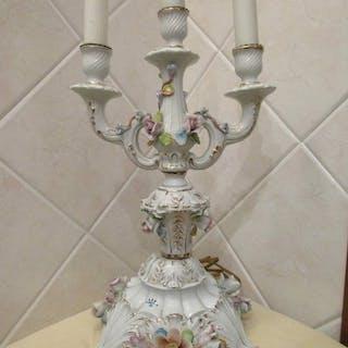 Capodimonte - Candelabro (1) - Porcellana