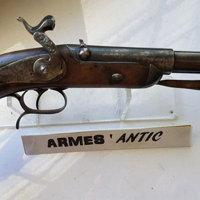 France - Assault - Percussions - Pistolet - 19 mm