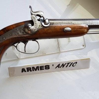 France - Officier - Percussions - Pistolet