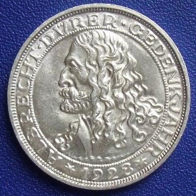 Deutschland - Weimarer Republik - 3Reichsmark 1928 D 400