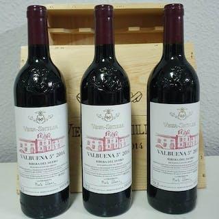 2014 Vega Sicilia 5º año - Ribera del Duero - 3 Botellas (0,75 L)