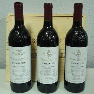 2009 Vega Sicilia Único - Ribera del Duero - 3 Botellas (0,75 L)