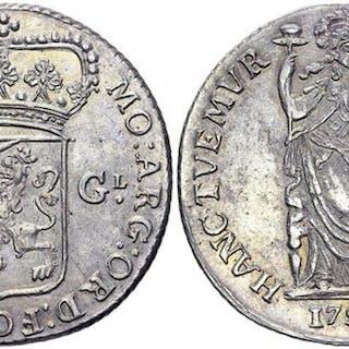 West Friesland - 3 Gulden 1791 - Silver