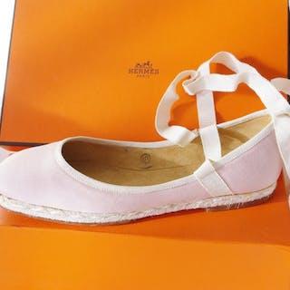 Hermès - Ostia Espadrilles - Size: FR 37